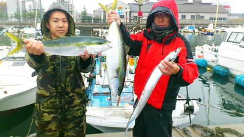 ワラサと太刀魚
