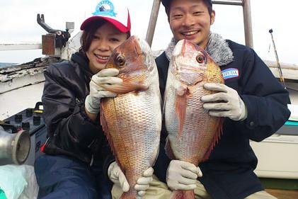 カップル 鯛