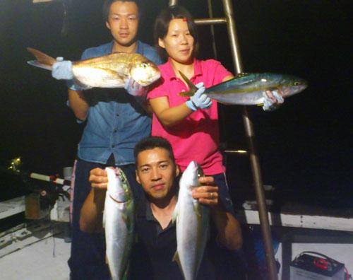 ワラサと鯛