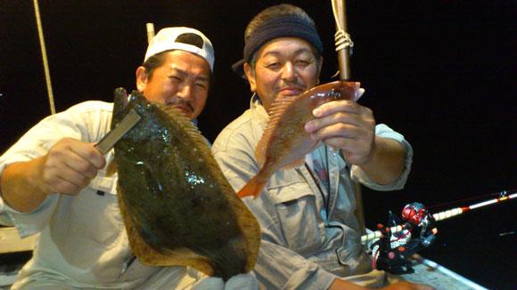 ヒラメと鯛